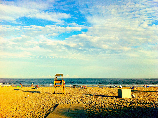 12. The beach!