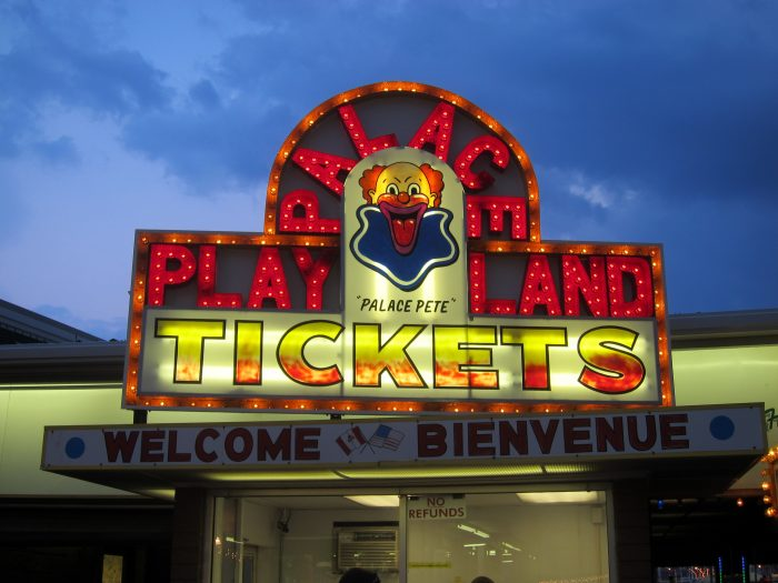 1. Palace Playland, Old Orchard Beach