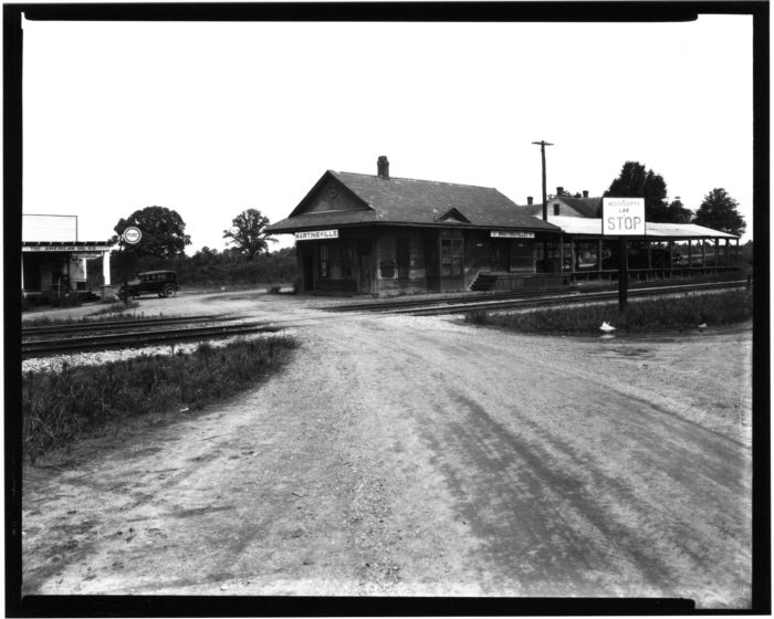 8. This historic depot is located in the small, unincorporated community of Martinsville, which is in Copiah County.