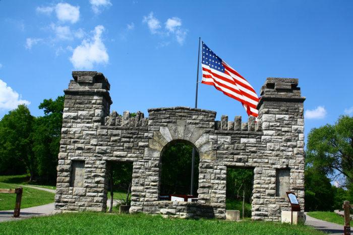 8. Fort Negley