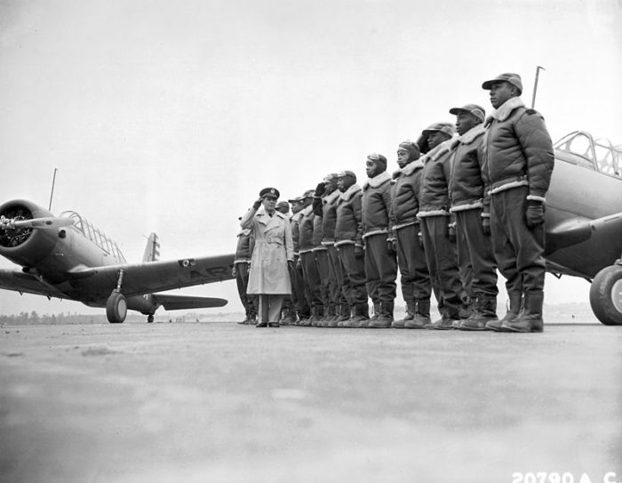 5. The Tuskegee Airmen, the country's first African-American military airmen, were trained in Alabama.