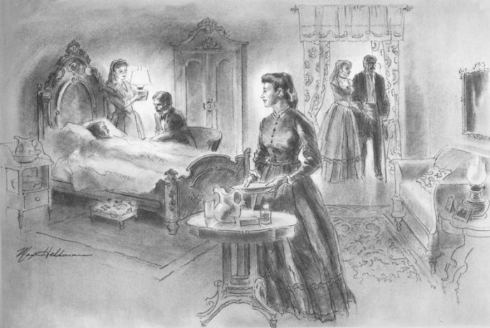 5. An early heroine of the city was a woman named Louise Wooster. She was a local prostitute who helped turn local brothels into clinic when a huge cholera epidemic hit the city in 1873. She continued her philanthropy after becoming the wealthy owner of her own brothel.