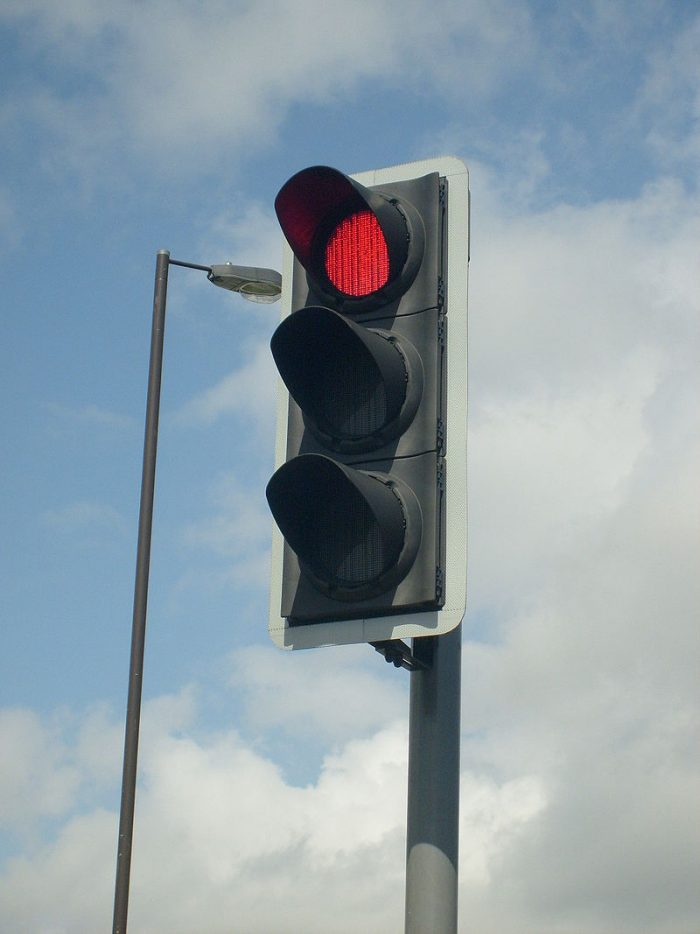 10. The counties of Calhoun and Clay do not have any stoplights.