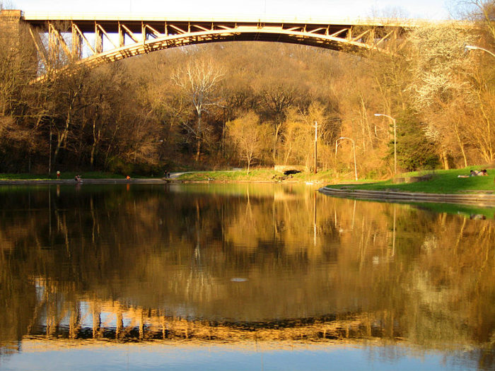 7. Panther Hollow Lake (Schenley Park), Pittsburgh