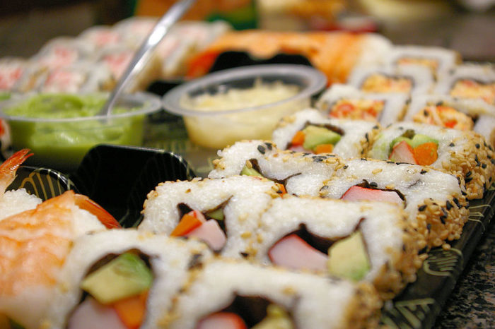 8. The Sushi will blow your taste buds out of the water.