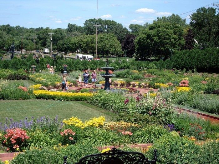 4. Visit one of our stunning gardens like Munsinger/Clemens or the Duluth Rose Garden. They have beautiful blooms in the spring and summer, and the fall colors are usually spectacular too.