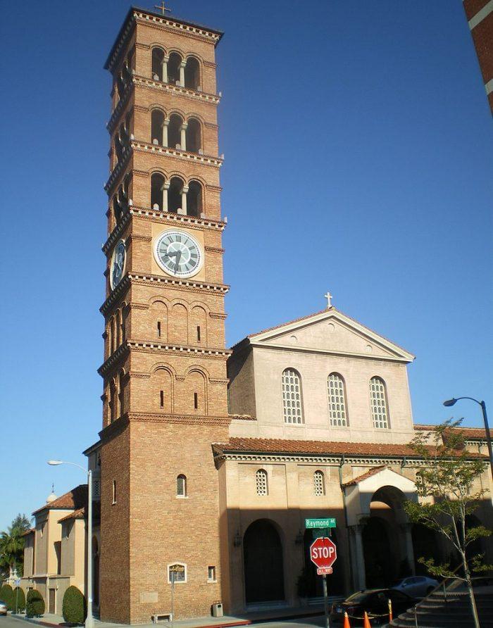 6. St. Andrew's Catholic Church in Pasadena