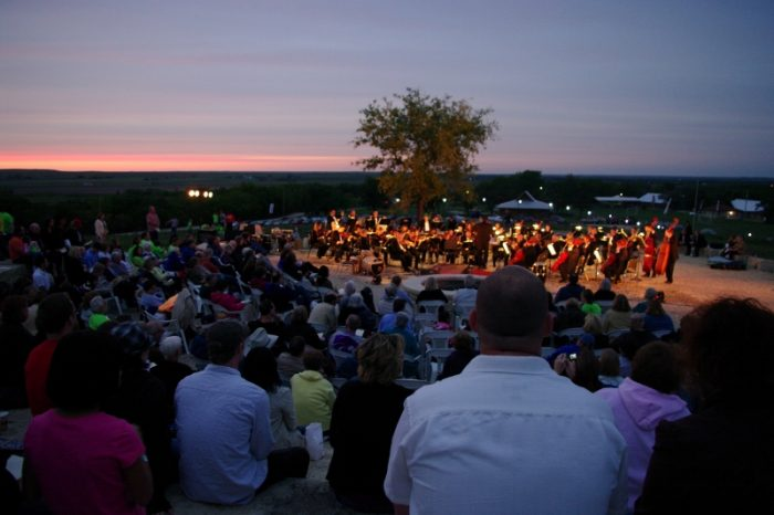 9. You have already purchased your tickets for the Symphony In the Flint Hills.