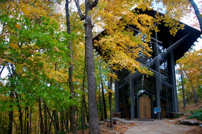 14.	Thorncrown Chapel (Eureka Springs)