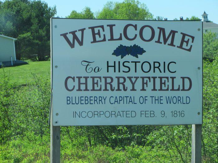 9. Cherryfield, Washington County