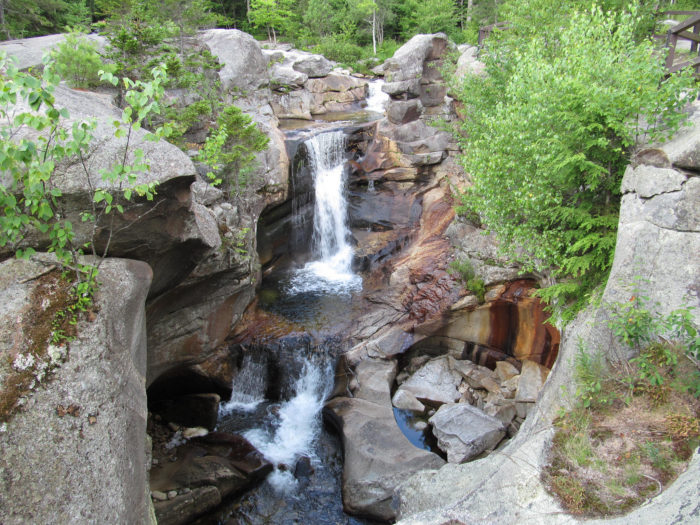 3. The Western Maine Waterfalls Road Trip