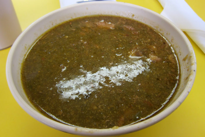 8. Try ALL the green chile in town...