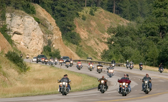 8. Sturgis Motorcycle Rally