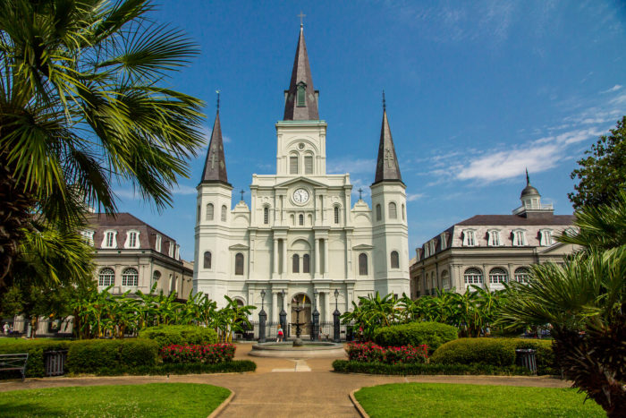 5) The St. Louis Cathedral is the oldest continuously operating cathedral in the United States.