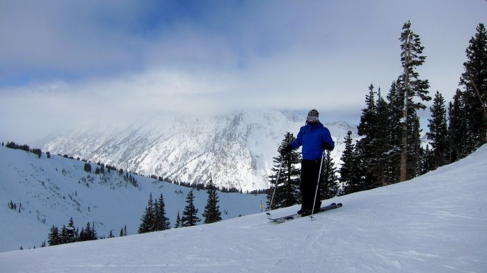6. Utah's Ski Resorts in the Winter