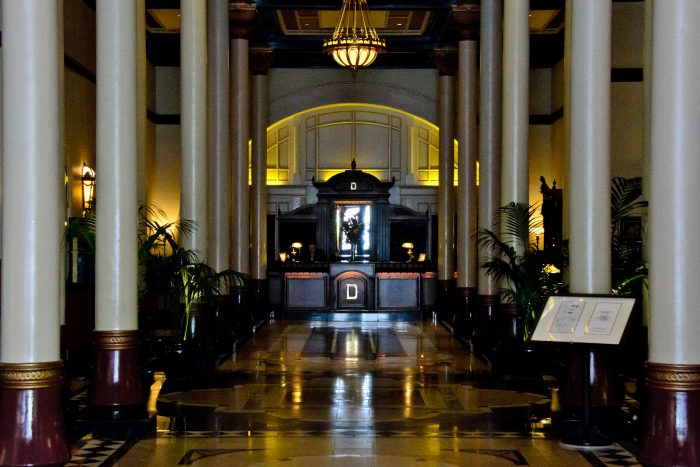 Given the hotel's rich history, it only makes sense that it would be haunted.