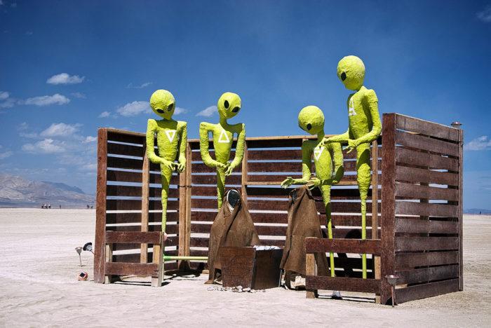 11. Alien abduction.