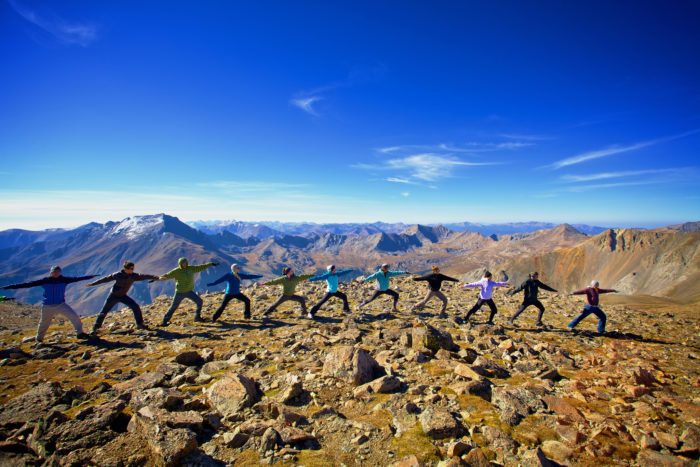 19. And if something should unfortunately go awry, there are always more lovable yoga gurus atop 14ers...