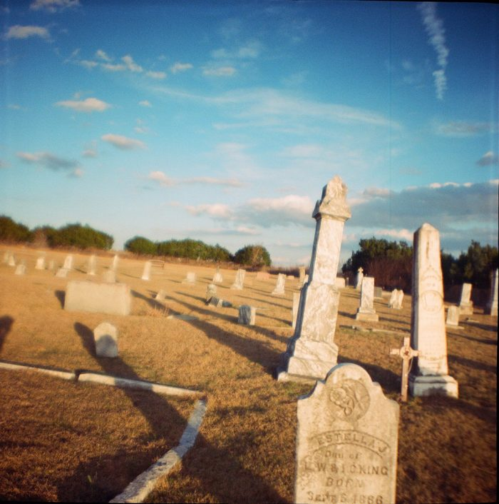 4. Merriltown Cemetery is a historical marker and was settled by Nelson Merrell. The oldest gravesite here is of their daughter Julia Merrell.