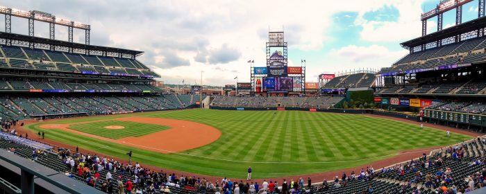 1. Rockies baseball...