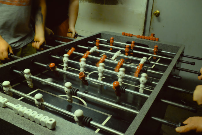 12) If you're a minor, you can't go to coin-operated foosball machines unless an adult accompanies you.
