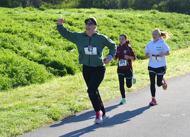 12. Challenge yourself to run a 5k.