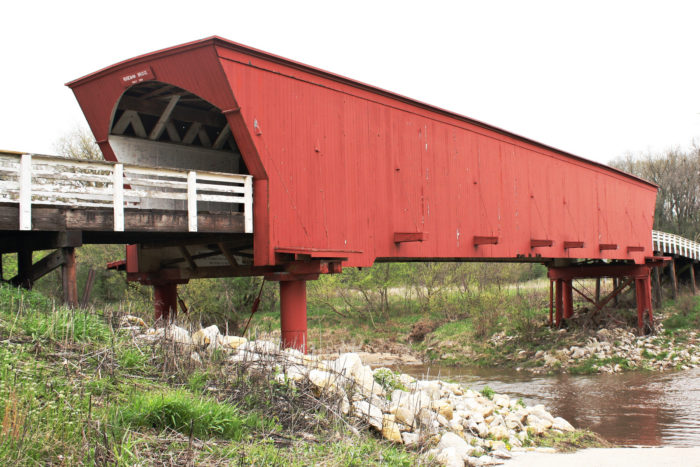 5. One of the covered bridges in Madison County
