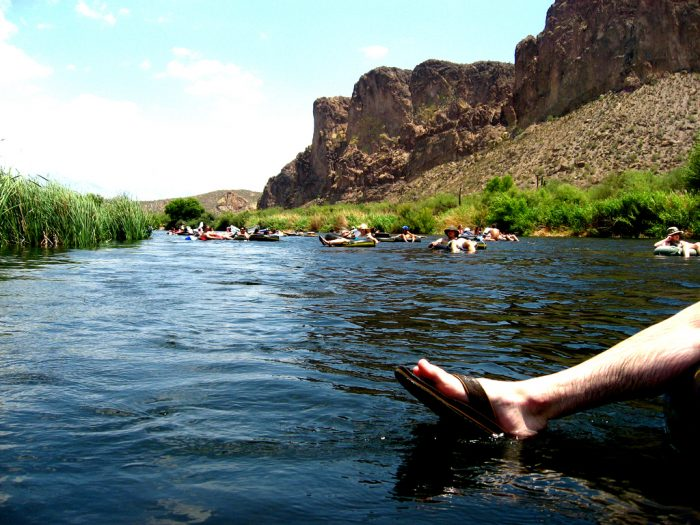 3. Float down the Salt River.