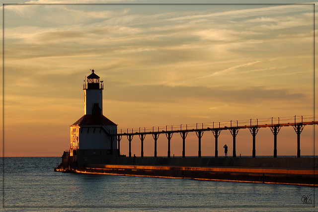 4. Old Michigan City Lighthouse - Michigan City