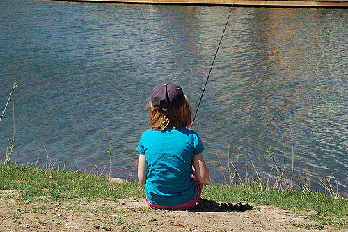 2. Get outside and go fishing.