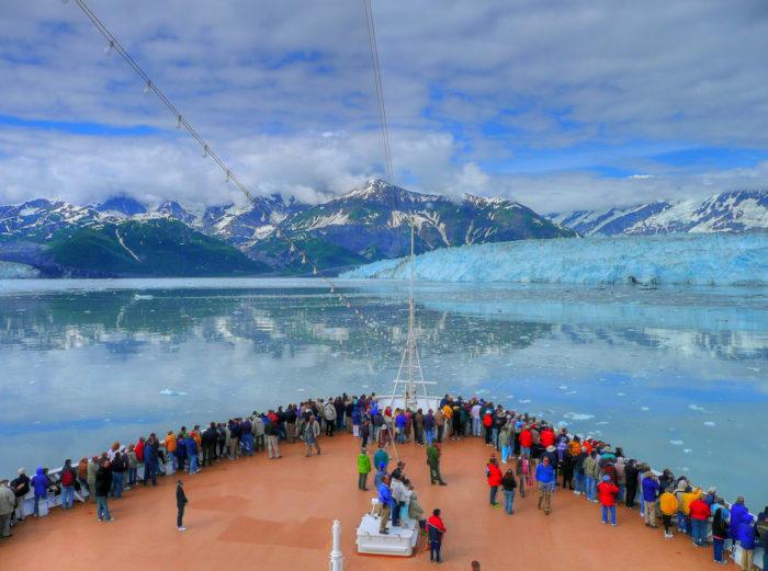 7. Hubbard Glacier, Alaska