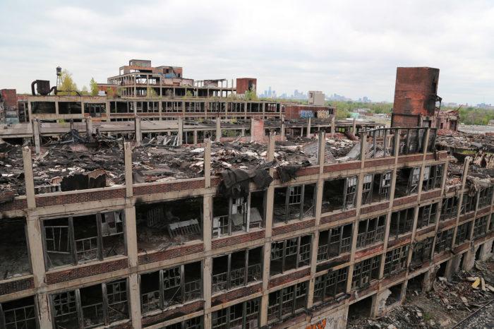 5. Packard Plant, Detroit