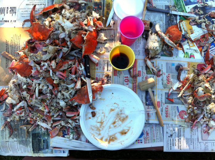16. Turns into this. A glorious display that only Marylanders will understand.