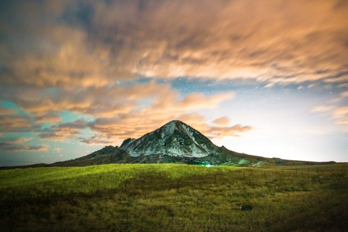 5. Bear Butte at twilight seems like the perfect place to be.