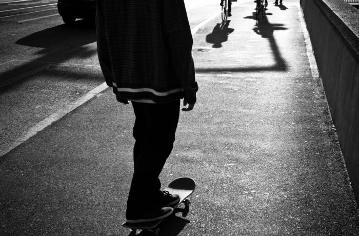 8. Skateboarding down the Main Street sidewalk is illegal in Victoria.