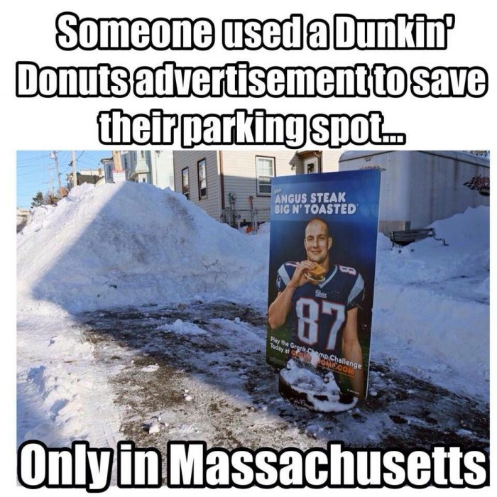 11. A GRONK Dunkin' Donuts advertisement. Only in Massachusetts, indeed.