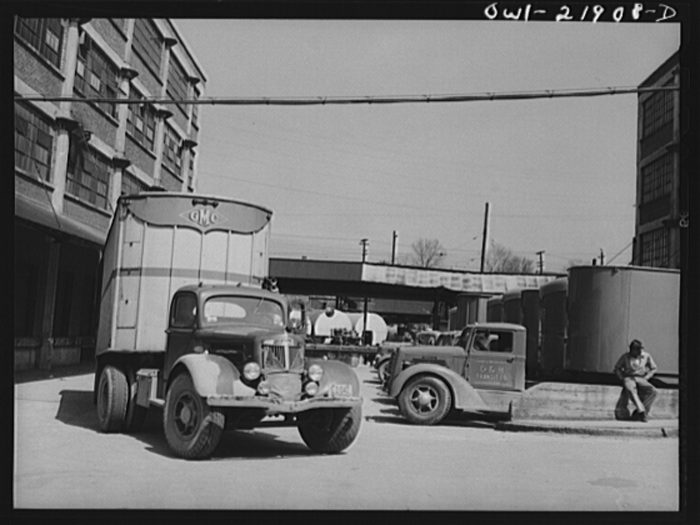 3. The Charlotte Truck and Warehouse District. CLT locals might recognize a few of these buildings.