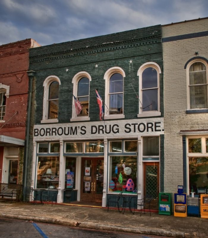 9. Visit the state's oldest drug store and soda fountain, Borroum's in Corinth.