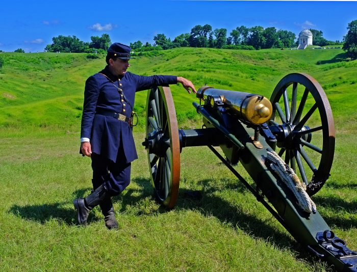 9. Watch history repeat itself (literally) at the Vicksburg National Military Park.