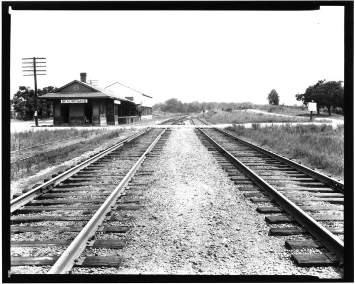 9. Part of the Illinois Central Railroad, this Beauregard depot also housed the area's post office.