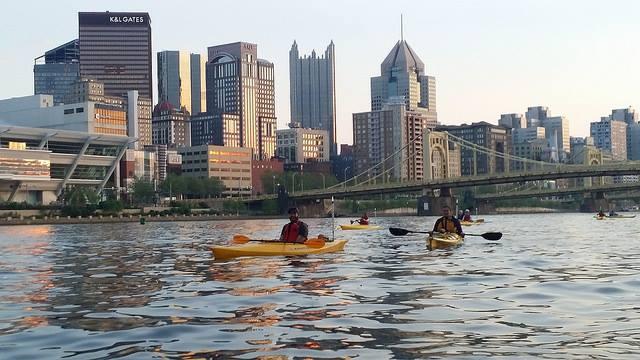 9. Kayak down the Three Rivers.