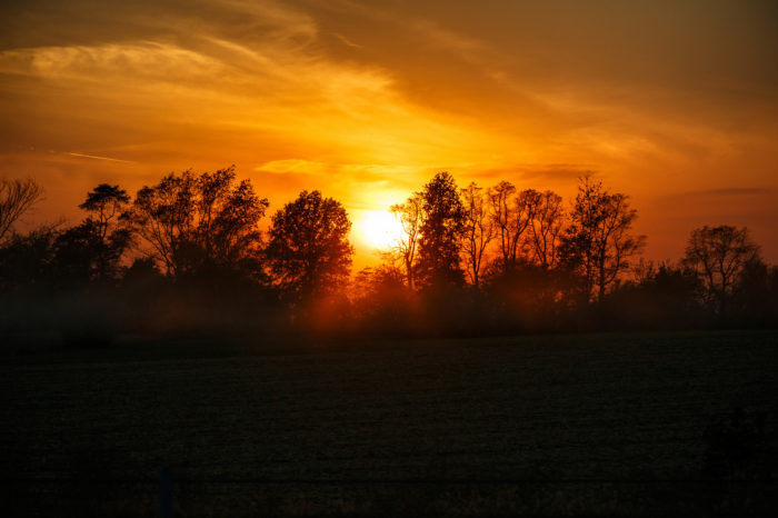 9.Sunrises and sunsets in rural Missouri