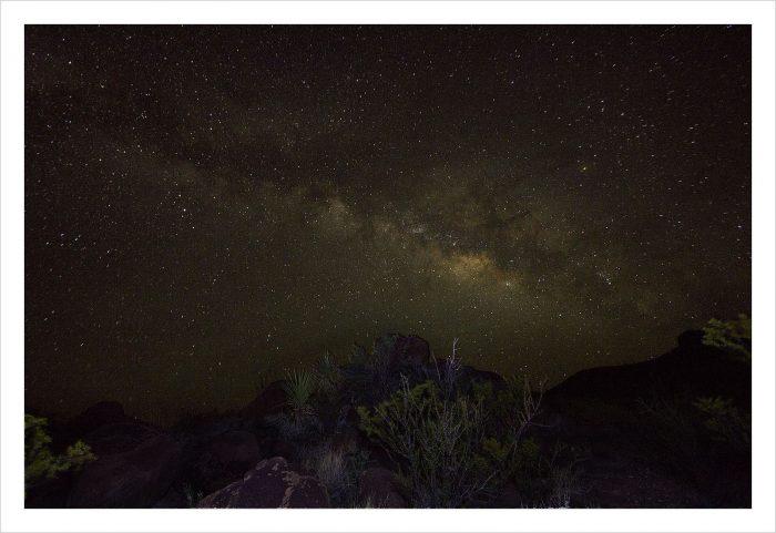 3. West Texas night sky