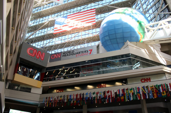 5. CNN Center News Studio