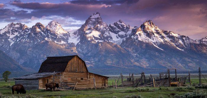 4. Moulton Barn, Wyoming
