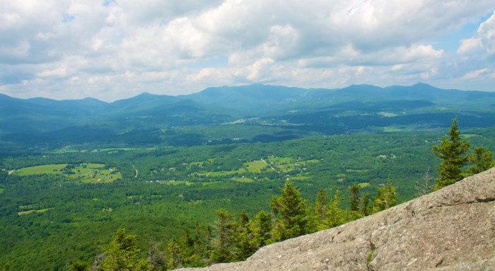Vermont: Stowe Pinnacle Trail