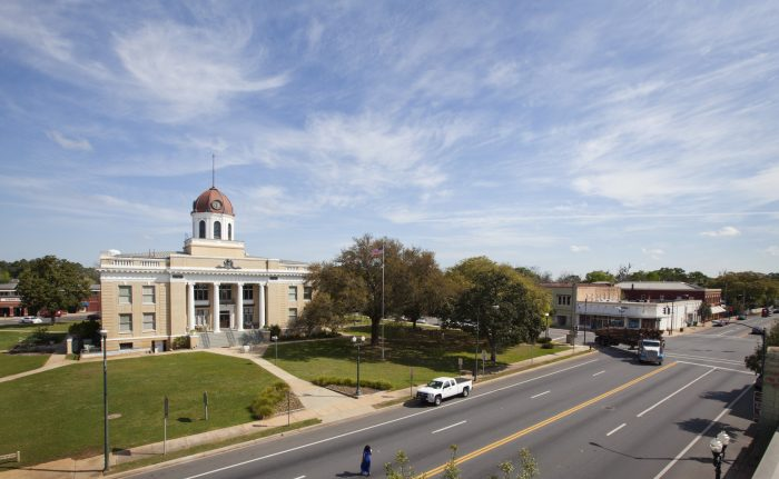The Gadsden County Courthouse