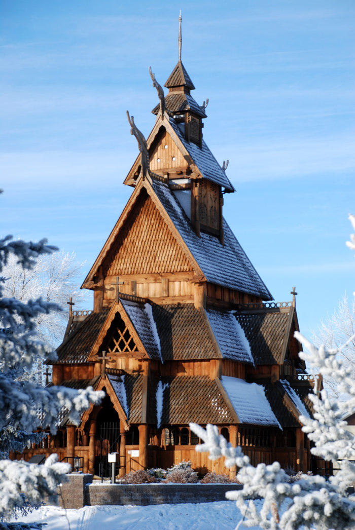 The church can be visited at the Scandinavian Heritage Park - and it is worth a trip that you won't forget.