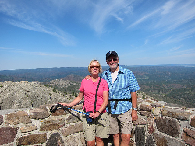 3. Climb to the top of Harney Peak.