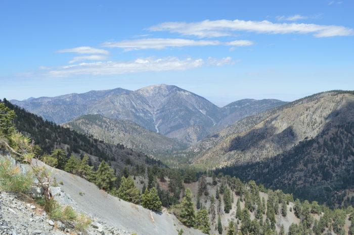 6. Mt. Baden-Powell --  San Gabriel Mountains